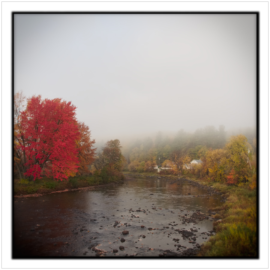 AM fog / East Branch Au Sable River   ~ Au Sable Forks, NY - in the Adirondack PARK