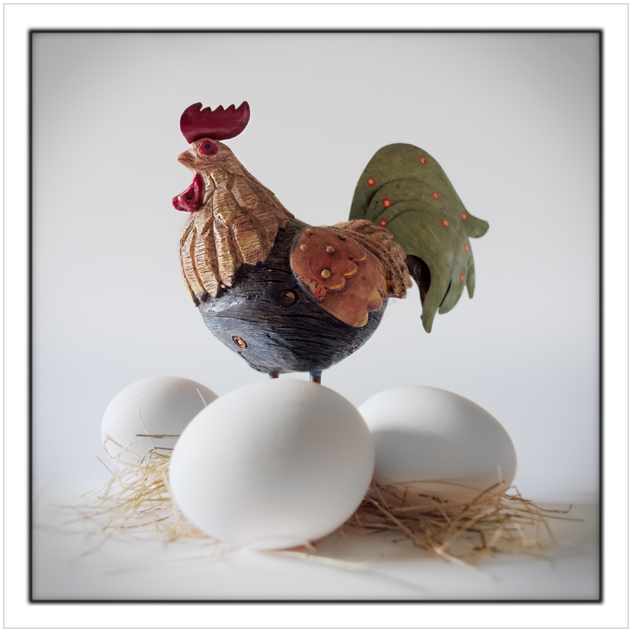 rooster and eggs - (click to embiggen)