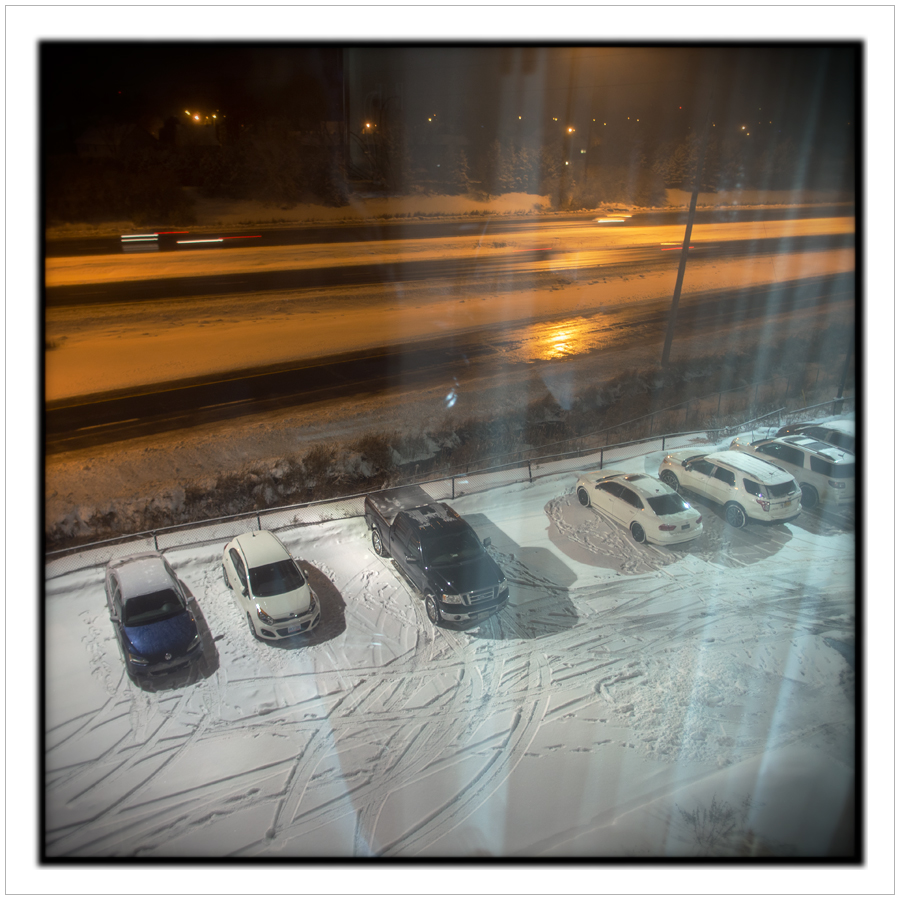 hotel parking night   ~ Ottawa, ON, Canada (click to embiggen)