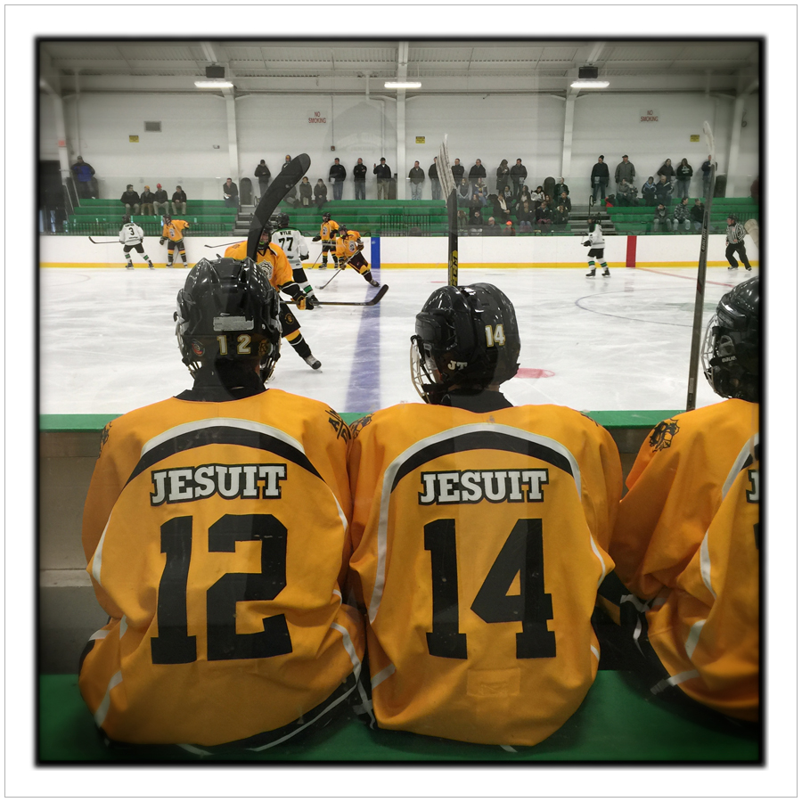 McQuaid Jesuit High School hockey game   ~ Ft. Covington, NY (click to embiggen)