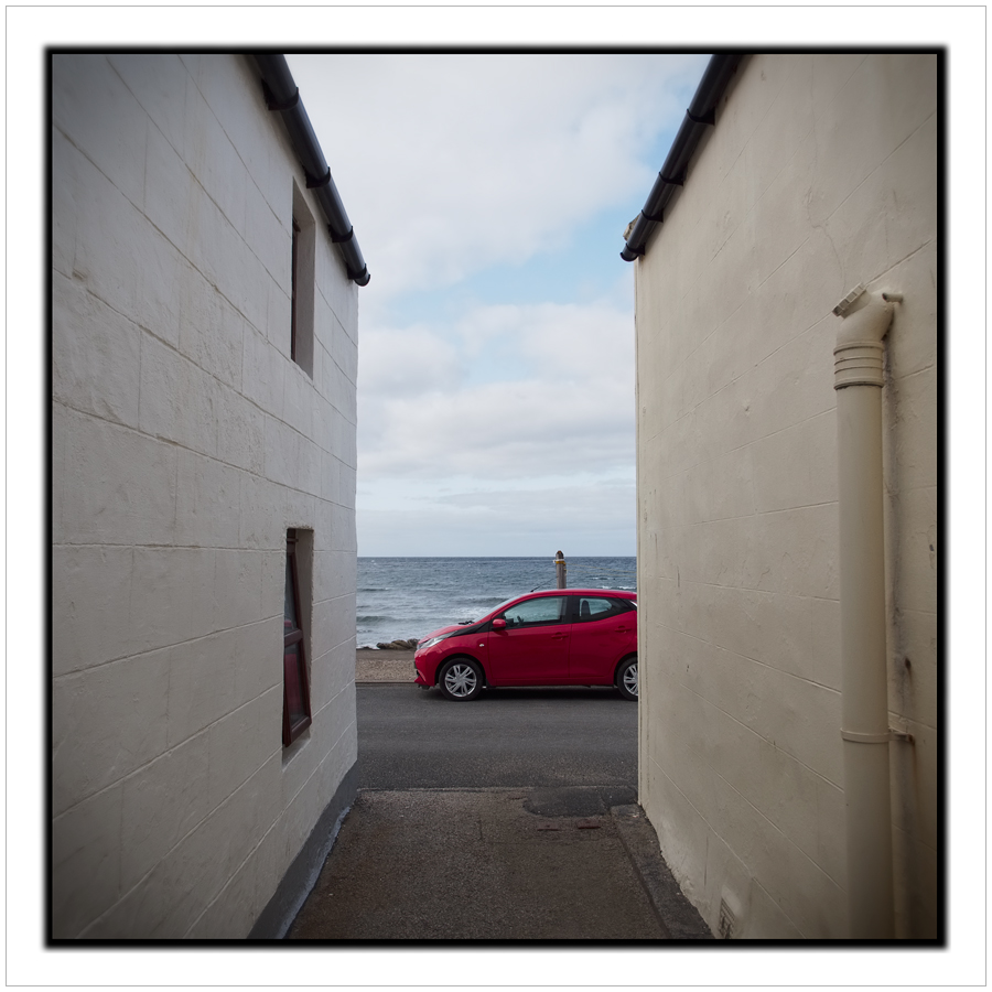 in perspective  / Pennan, Scotland (click to embiggen)