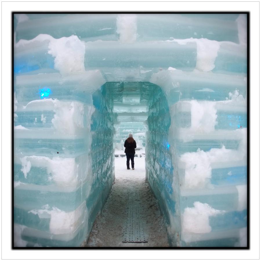 ice castle entrance   /   Saranac Lake Winter Carnival   ~ Saranac Lake, NY - in the Adirondack PARK (click to embiggen)