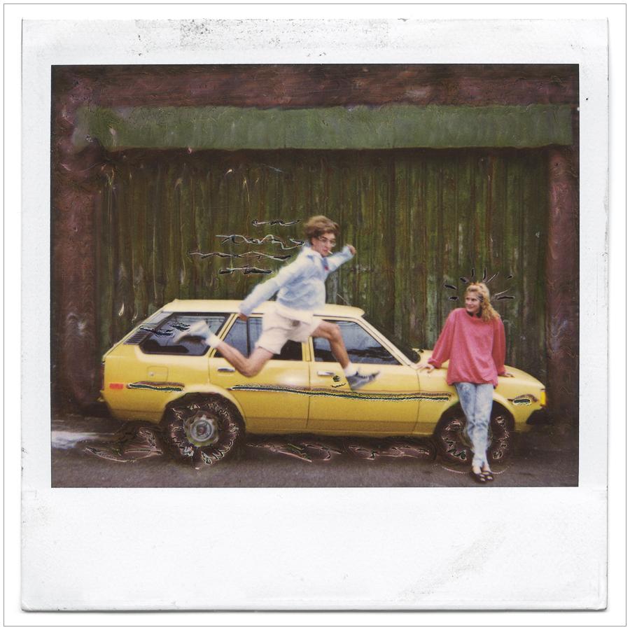 manipulated polaroid  / c. 1990~ click to embiggen