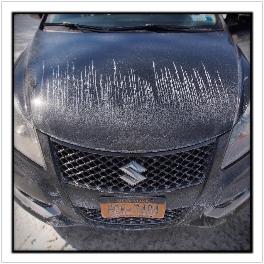 my car observed while at carwash   ~ Malone, NY (embiggenible)