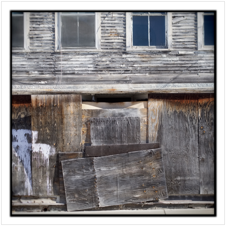 boarded up   ~ Fort Covington, NY (embiggenable)
