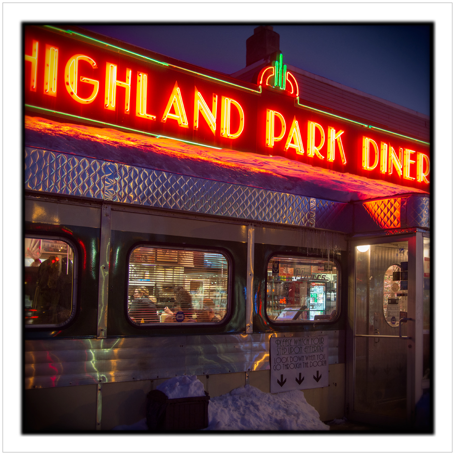 diner exterior   ~ Rochester, NY (embiggenable)