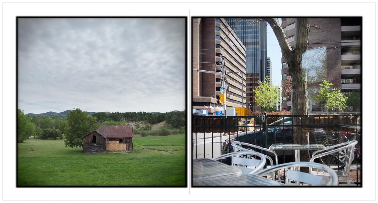 landscape   /   cityscape   ~ near Au Sable Forks, NY / Ottawa, ONT. CA (embiggenable)