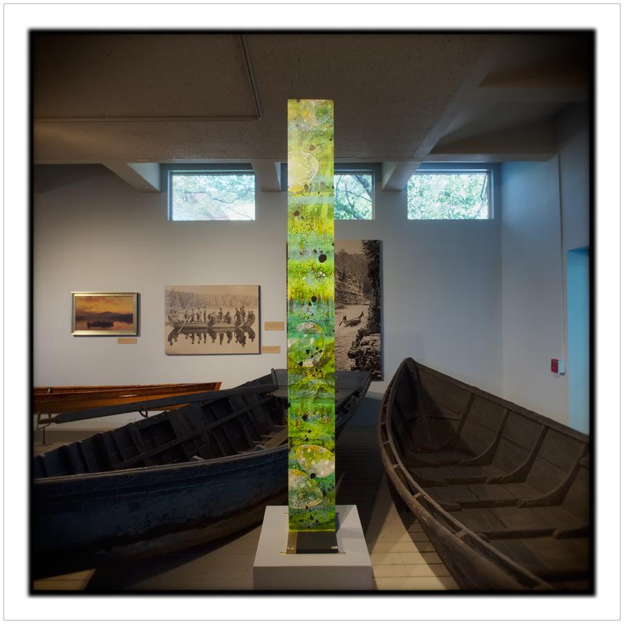 totem   ~ Adirondack Museum / Blue Mt.Lake, NY • in the Adirondack PARK (embiggenable) -  MFT picture
