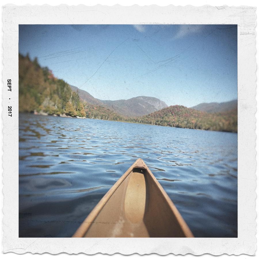 on Henderson Lake