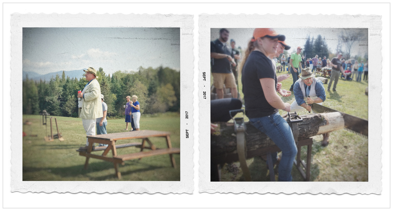 Teddy / morning coffee • lumberjack event ~ Newcomb, NY in the Adirondack PARK (embiggenable)