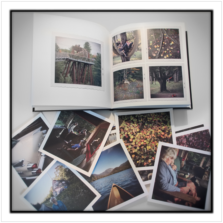 "quid est demonstratum ~   ""album"" book from Shutterfly     / 5.5"" prints from Parabo Press"