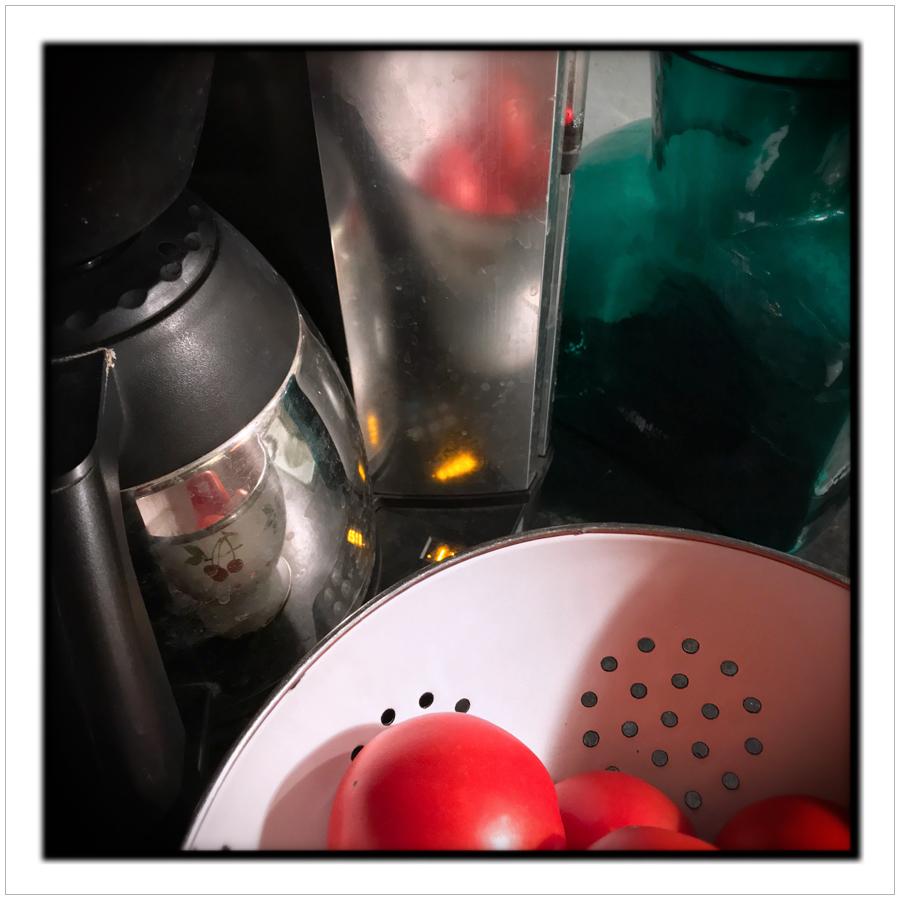 kitchen reflections   ~ (embiggenable) iPhone 7 Plus camera module
