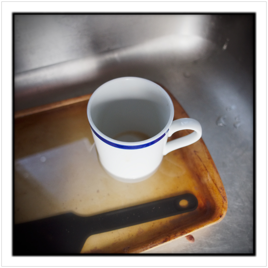 coffee cup / reflected light ~ (embiggenable) • µ4/3