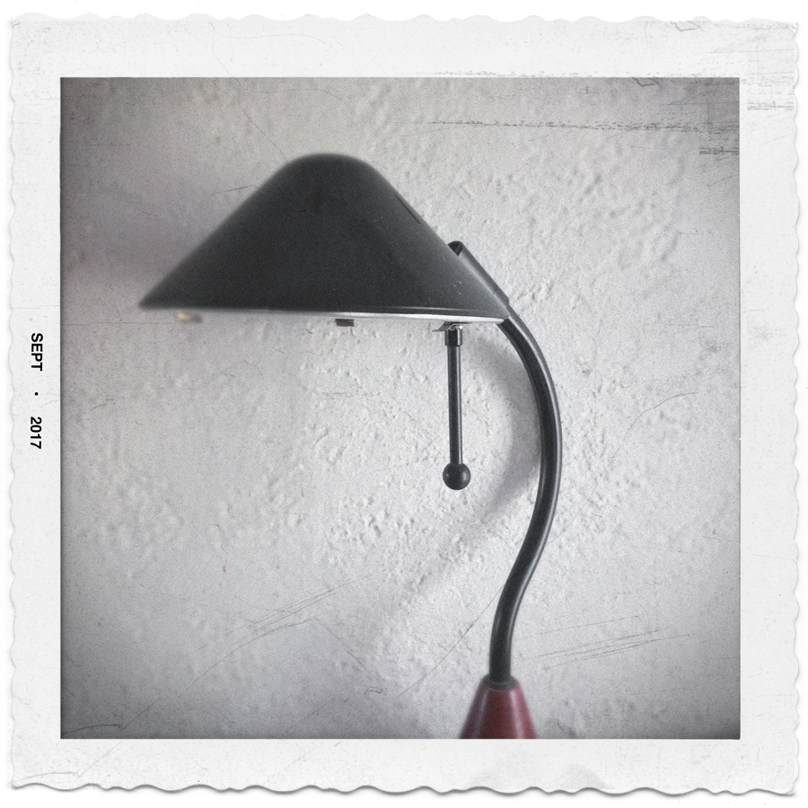 desk lamp   ~ (embiggenable) • iPhone