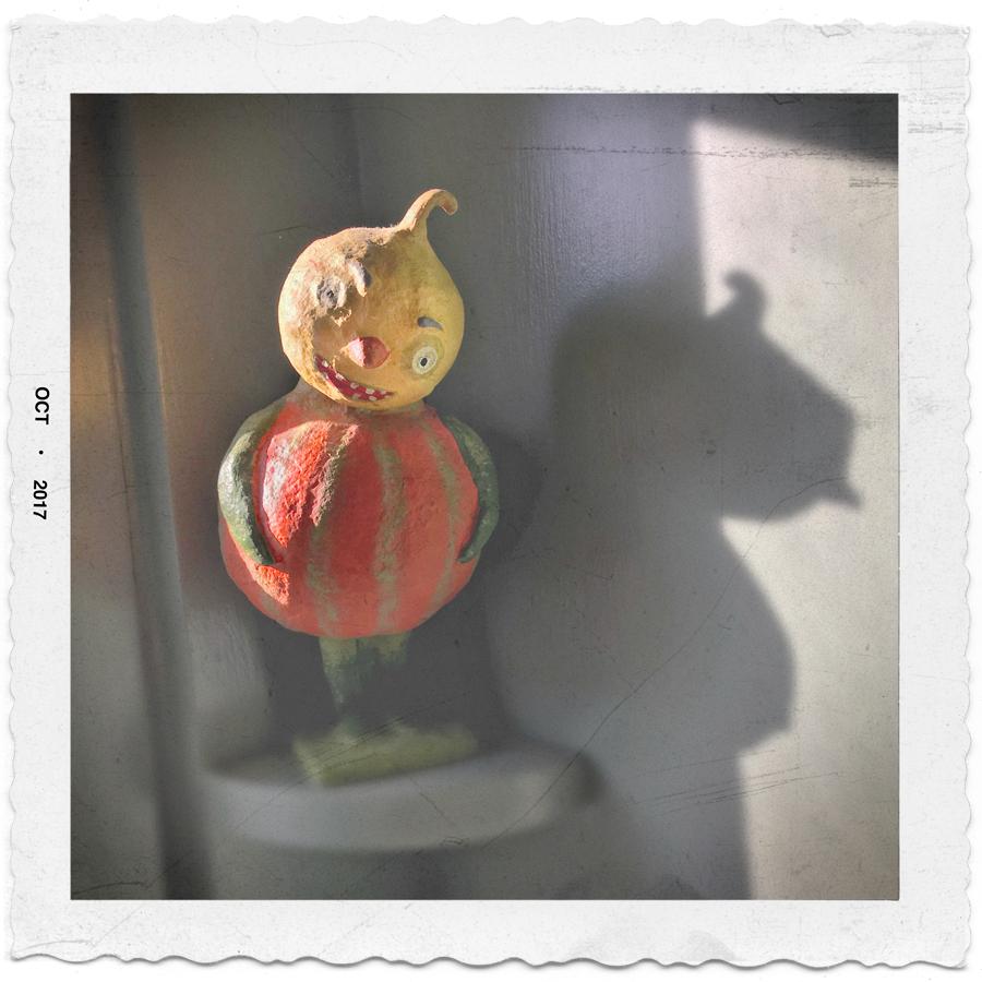 disturbing gourd figure   ~ (embiggenable) • iPhone