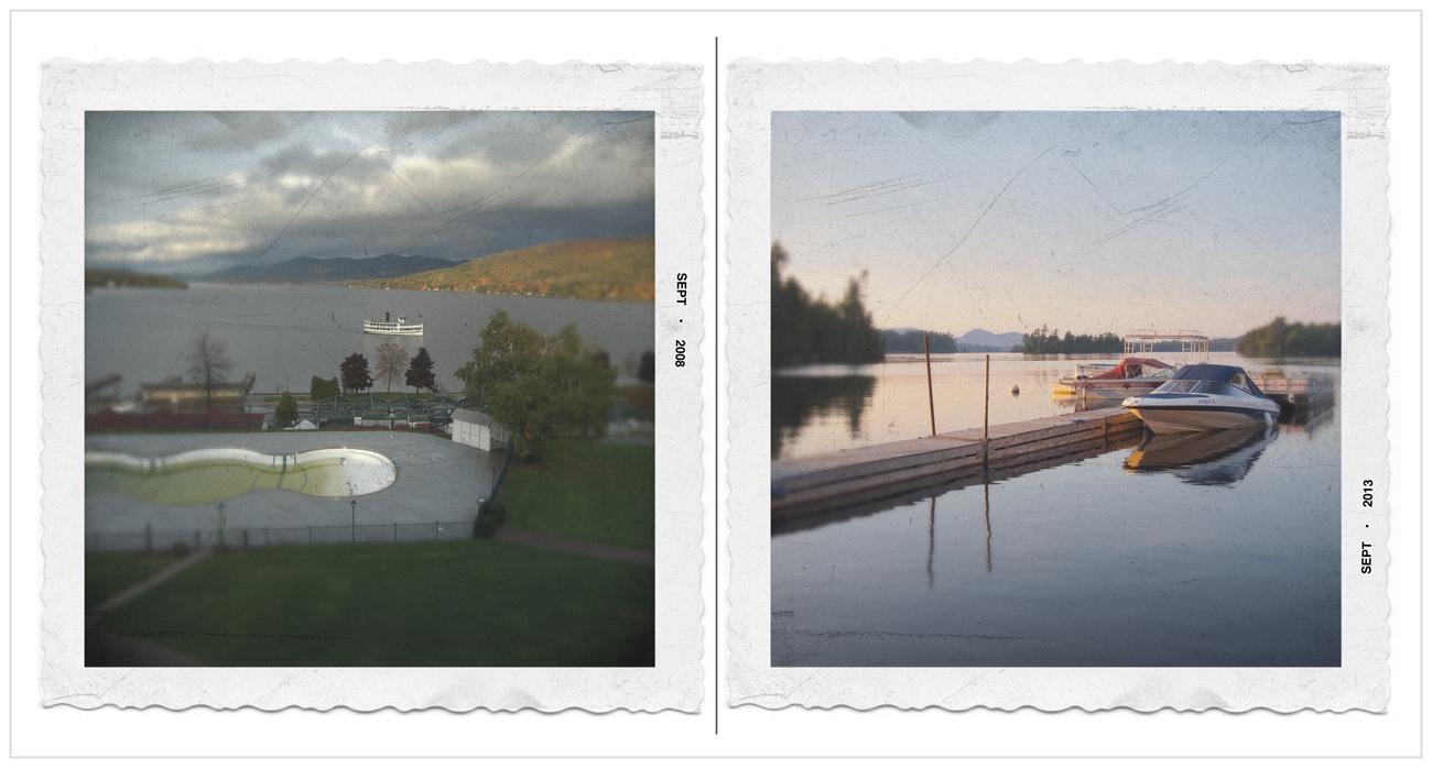 Lake George  /   Raquette Lake   ~ in the Adirondack PARK (embiggenable) • µ4/3
