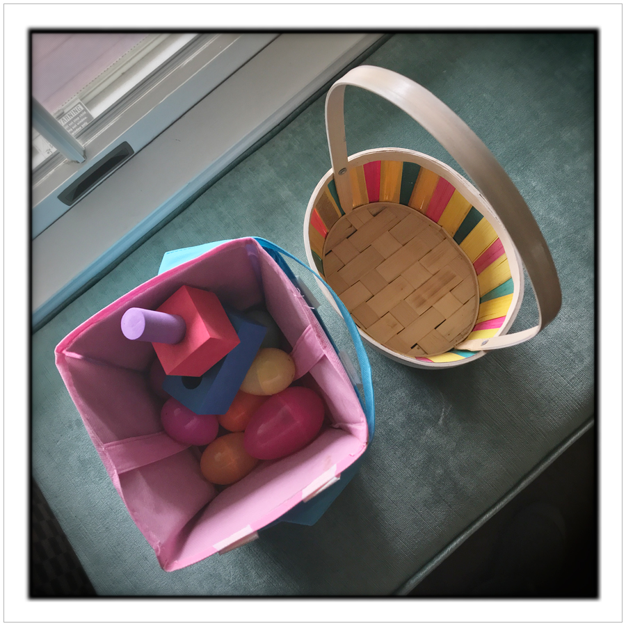 Easter baskets   ~ Harrington Park (embiggenable) • iPhone