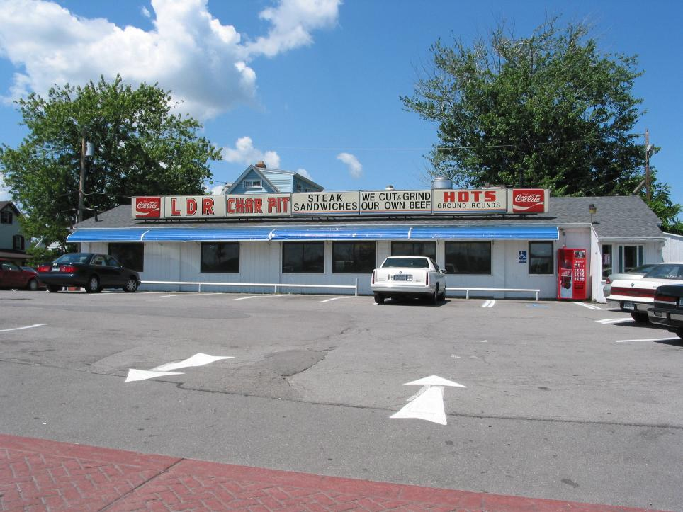 a   typical original hot dog stand   ~ Rochester, NY