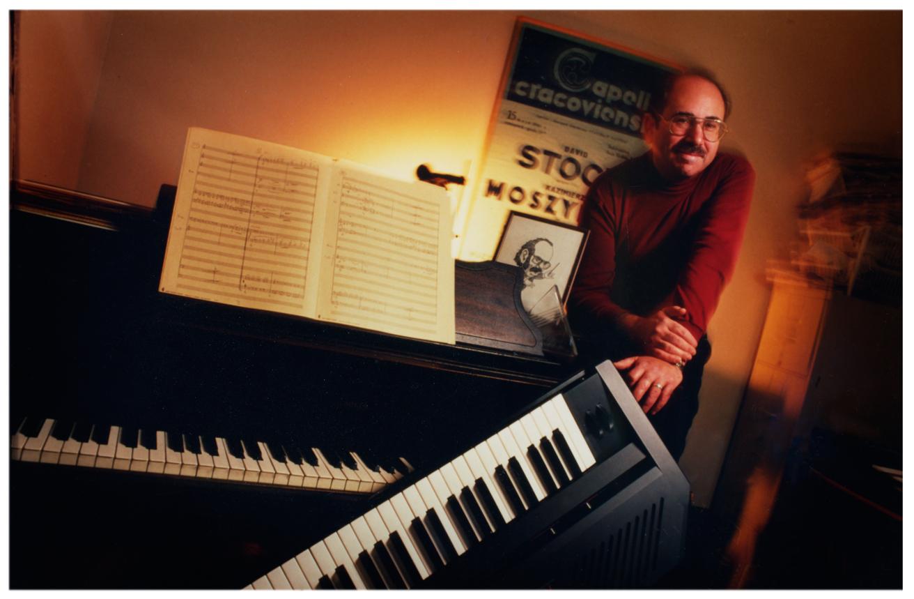 Composer   /   Conductor ~   for magazine profile article