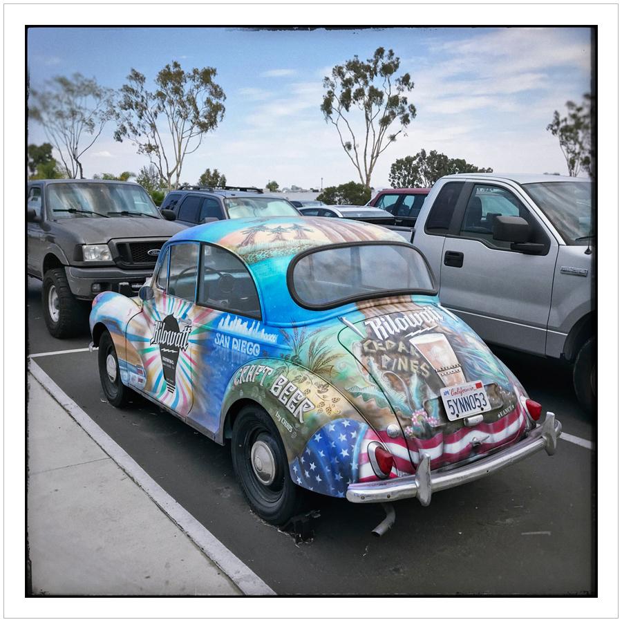micro brewery     car   ~ San Diego , California (embiggenable) • iPhone