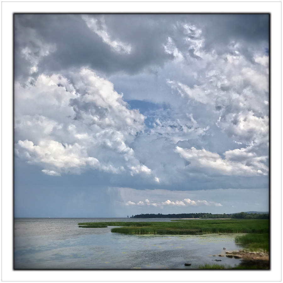 Lake Champlain   /   Au Sable Point   ~ (embiggenable) • iPhone