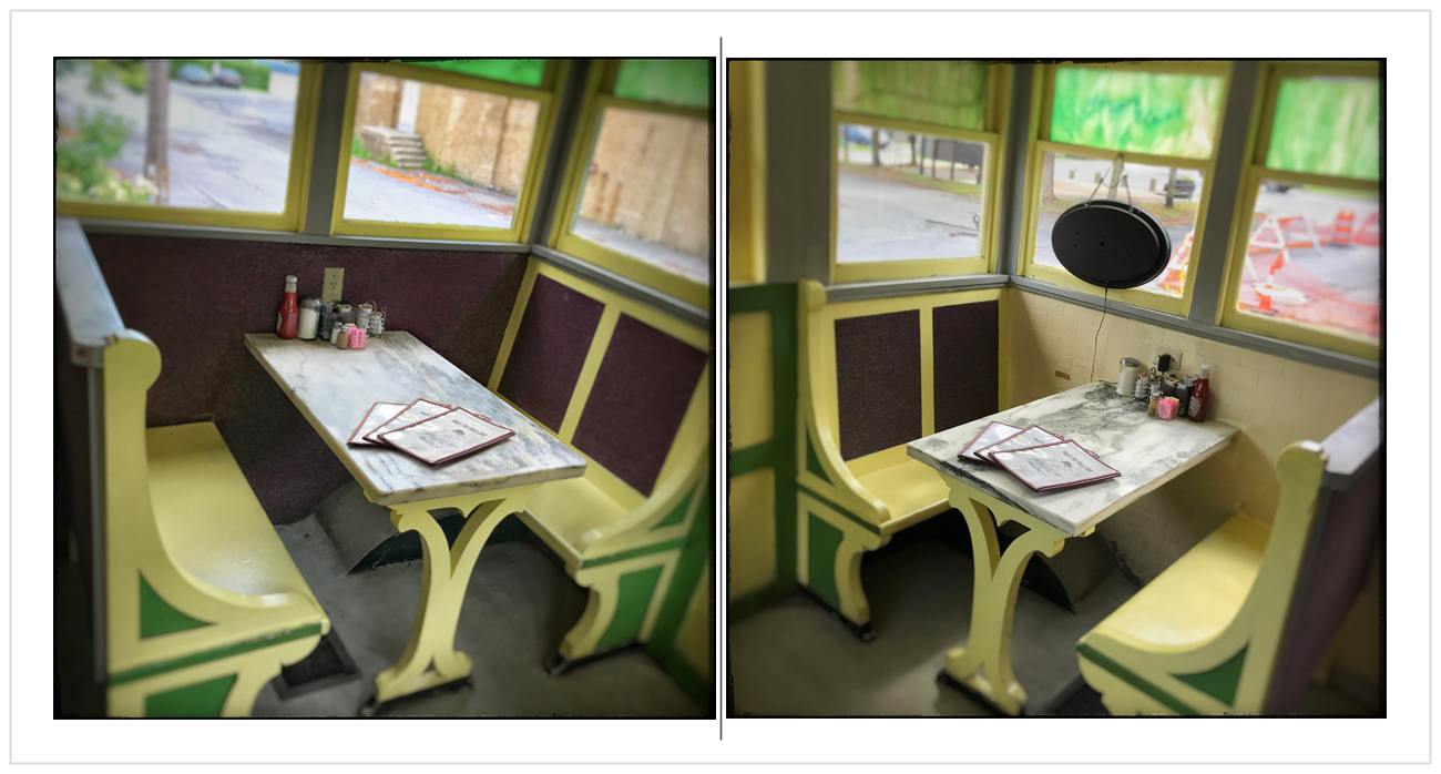booths   /   Port Henry Diner   ~ Port Henry, NY - (embiggenable) • iPhone