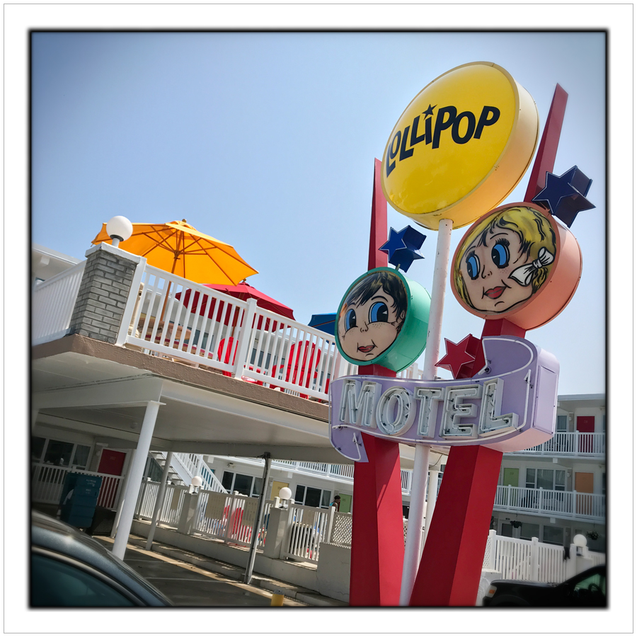 Lollipop Motel   ~ Wildwood, SouthJersey Shore (embiggenable) • iPhone