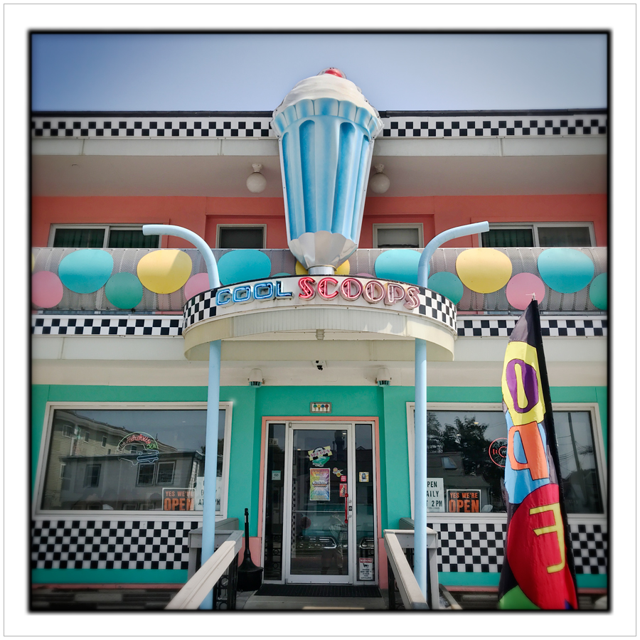 COOL SCOOPS   ~ Wildwood, South Jersey Shore (embiggenable) • iPhone