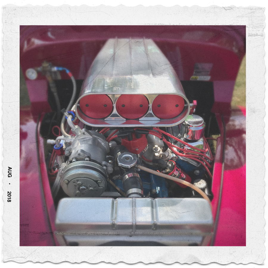 hot rod motor   ~ (embiggenable) • iPhone