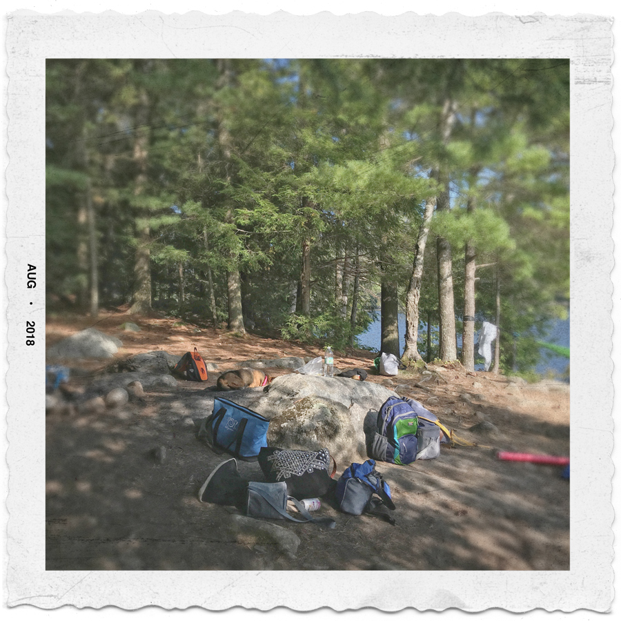 Lonesome Bay   ~ Lower Saranac Lake, NY - (embiggenable) • iPhone
