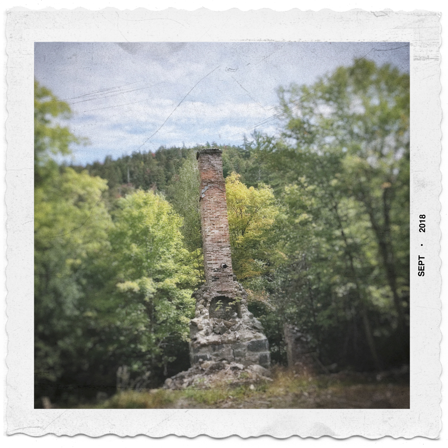 mining ghost town chimney/fireplace   ~ (embiggenable) • iPhone