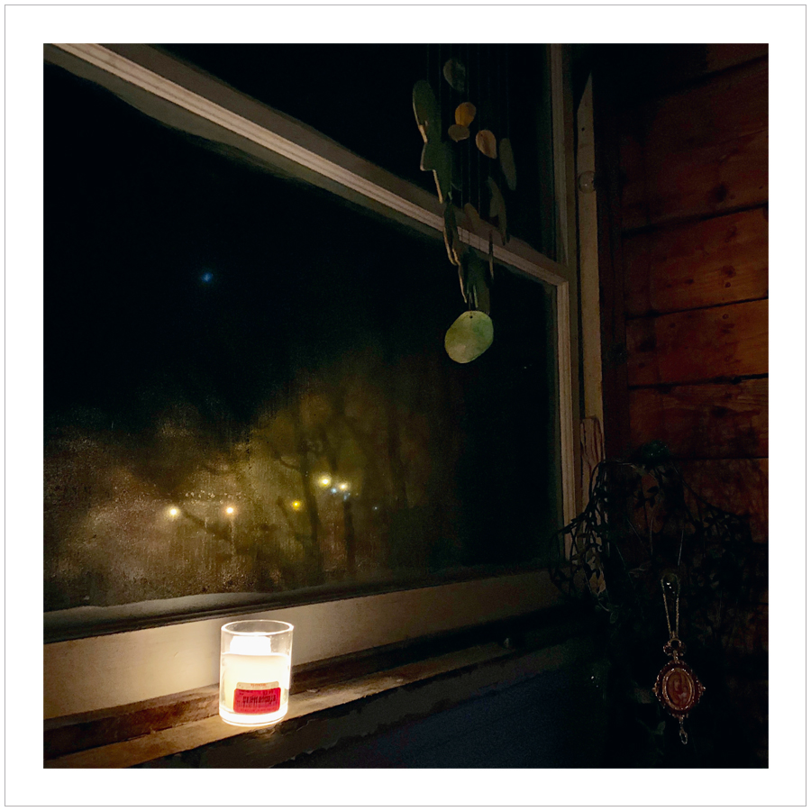 porch candle light   ~ (embiggenable) • iPhone
