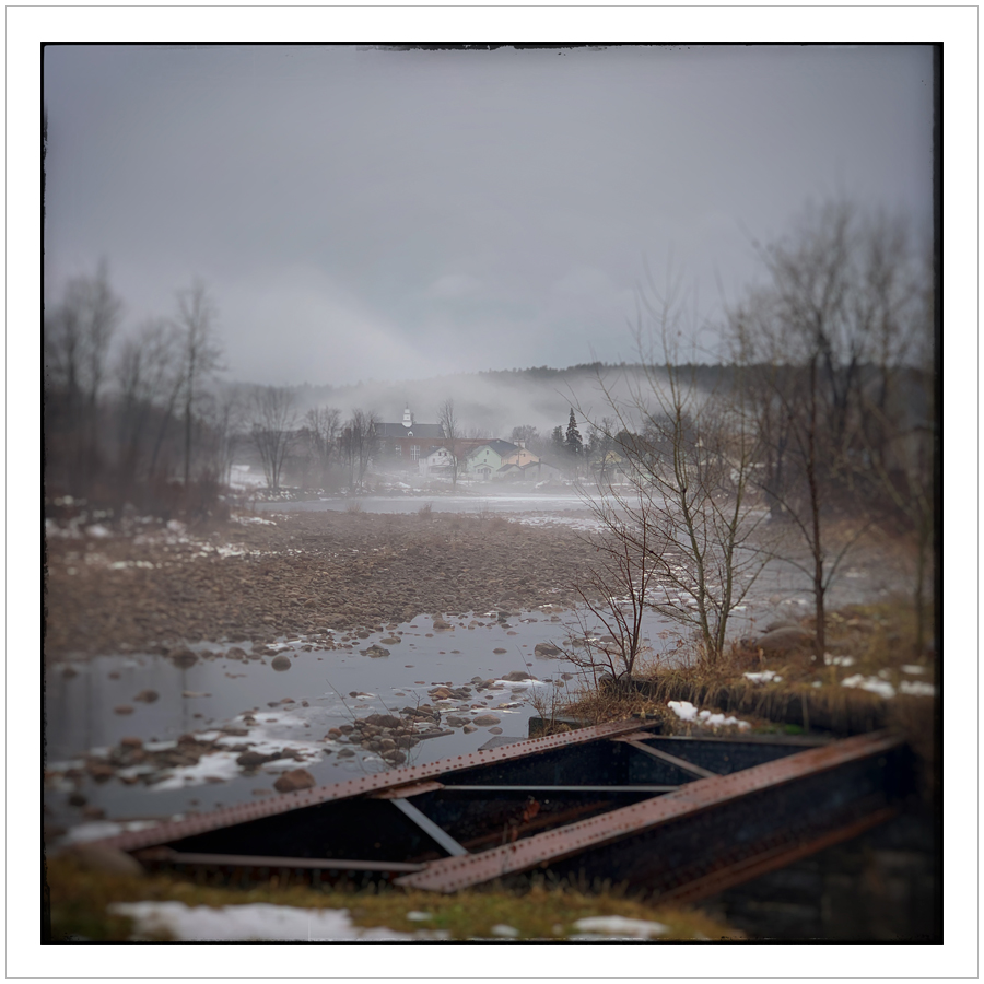 my hometown   ~ Au Sable Forks, NY - in the Adirondack PARK (embiggenable) • iPhone