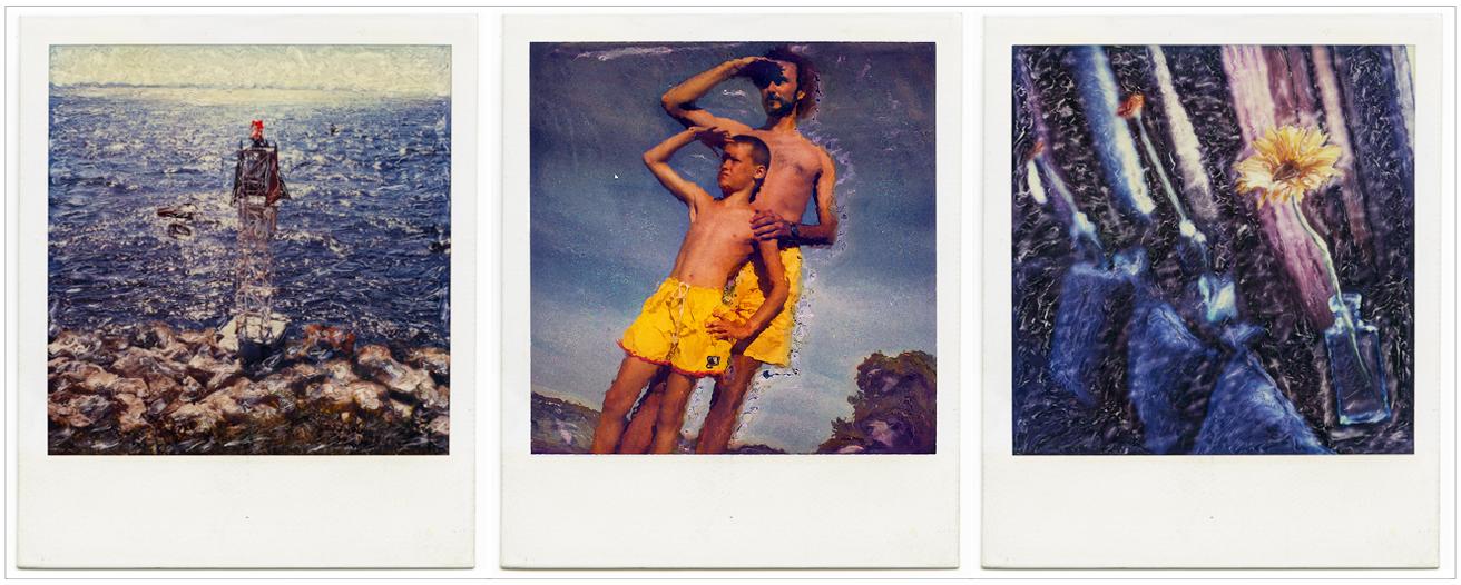 just for fun   ~ (embiggenable) • Polaroid SX-70 camera