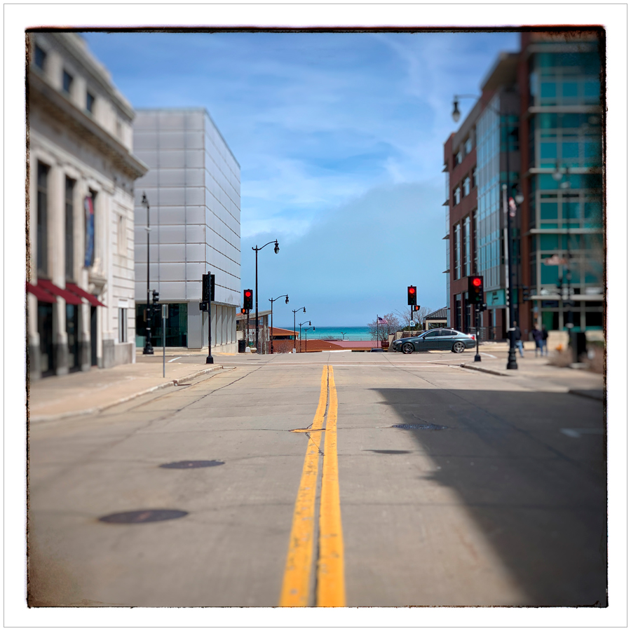Lake Michigan   ~ Racine, Wisconsin (embiggenable) • iPhone