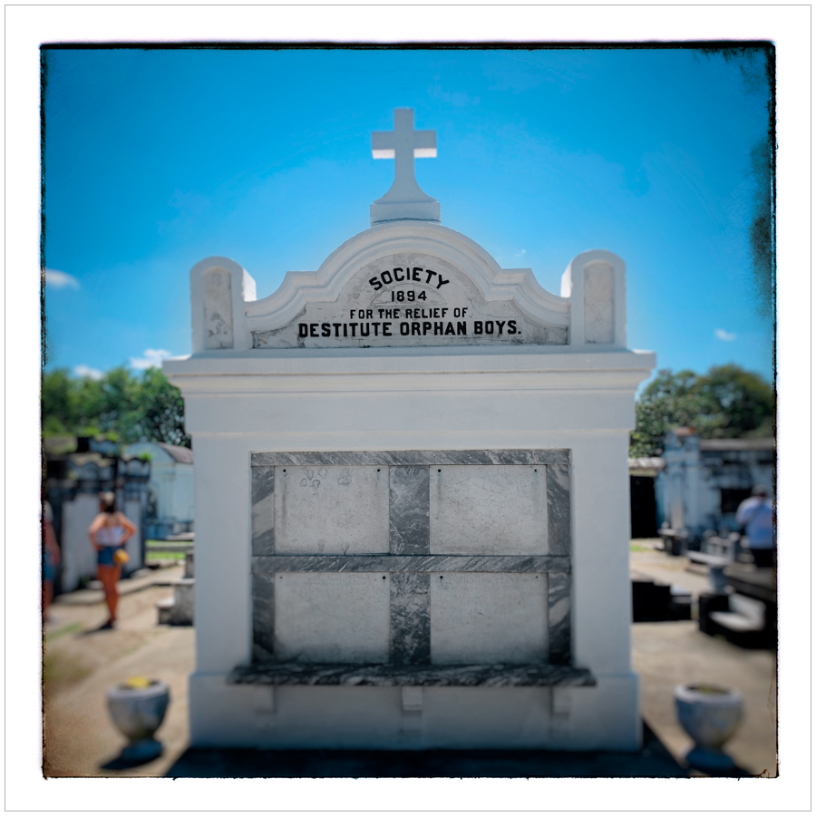 Lafayette Cemetery   ~ New Orleans, Louisiana (embiggenable) • iPhone