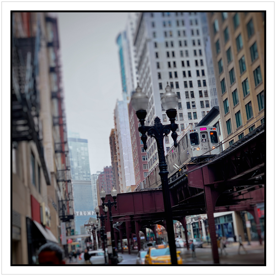 the L     train   ~ Chicago, Illinois (embiggenable) • iPhone