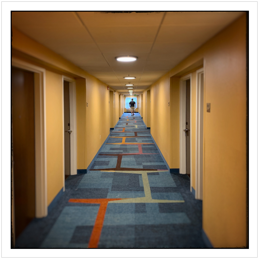hotel hall  ~ Rayham, Mass. (embiggenable) • iPhone