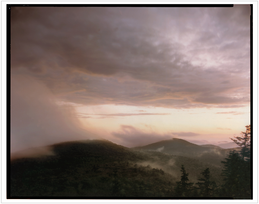 from Castle Rock   ~ Blue Mt. Lake, NY (embiggenable) • 8x10 Arca Swiss w 8x10 color negative film