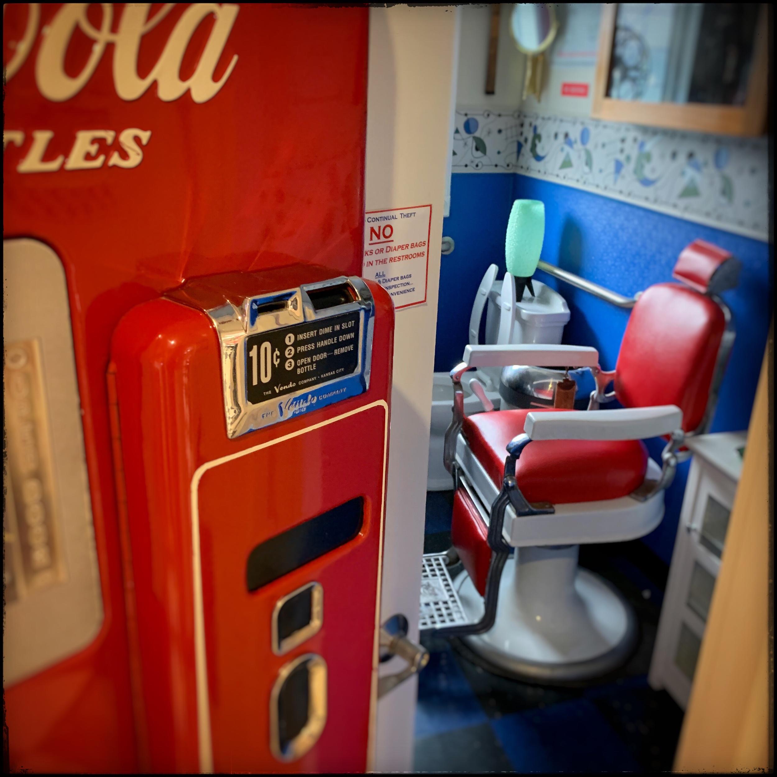 Cool Scoops (ice cream parlor) Mens bathroom   ~ Wildwood, NJ (embiggenable) • iPhone