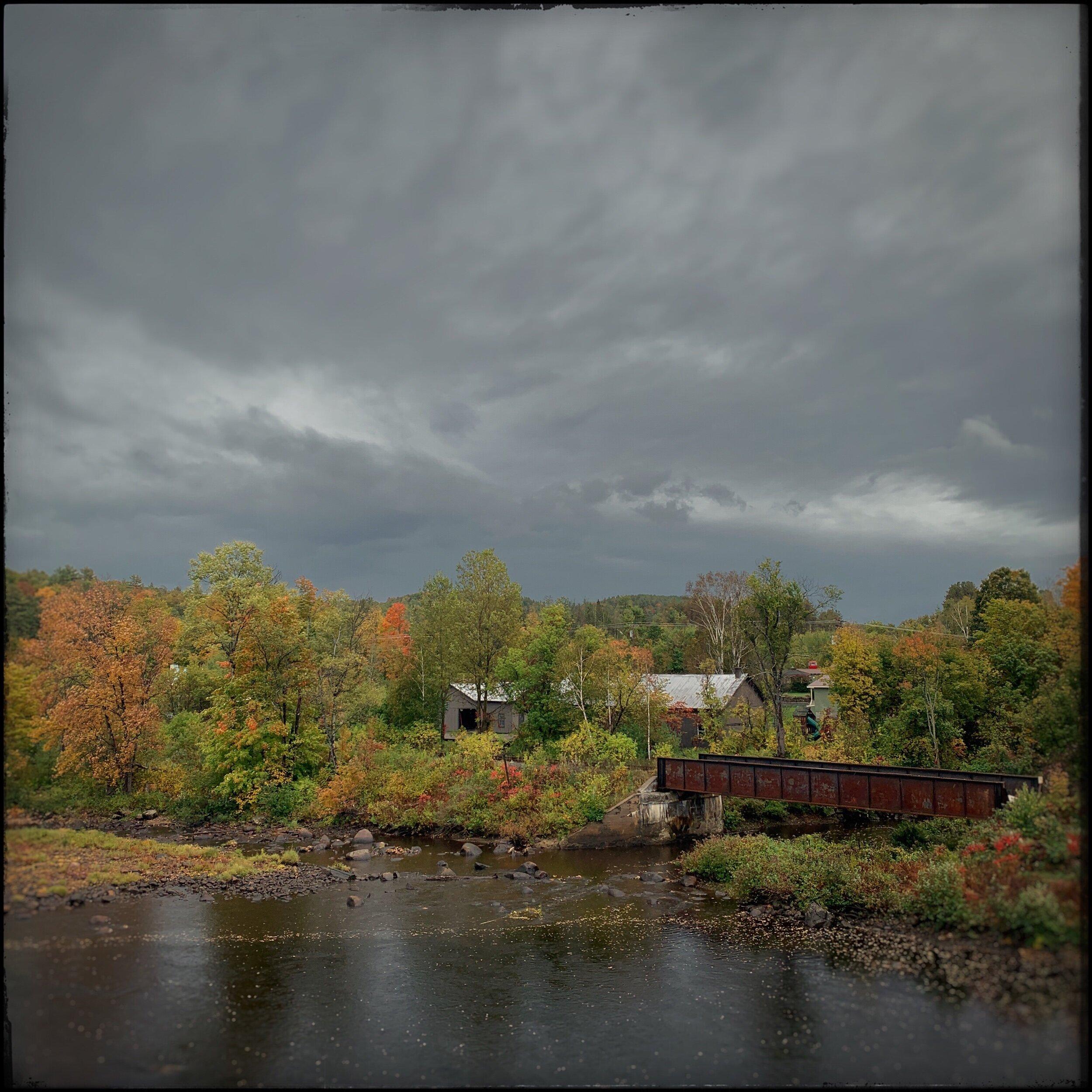 Hudson River   ~ North Creek, NY (embiggenable) • iPhone