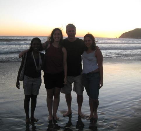 lab sunset beach pete.JPG