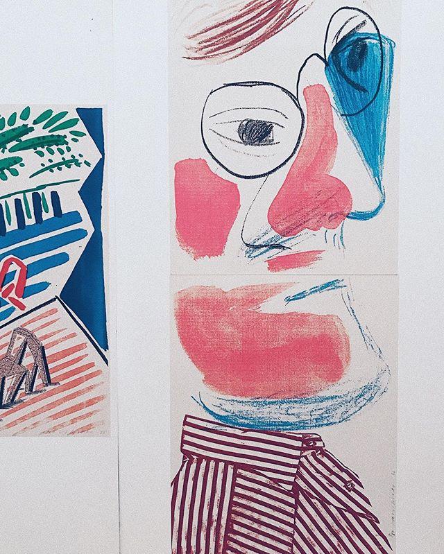 推荐一位大神爷爷David Hockney给大家。#davidhockney