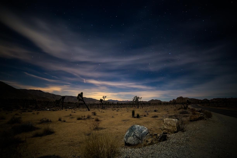 Night Sky at Jtree.