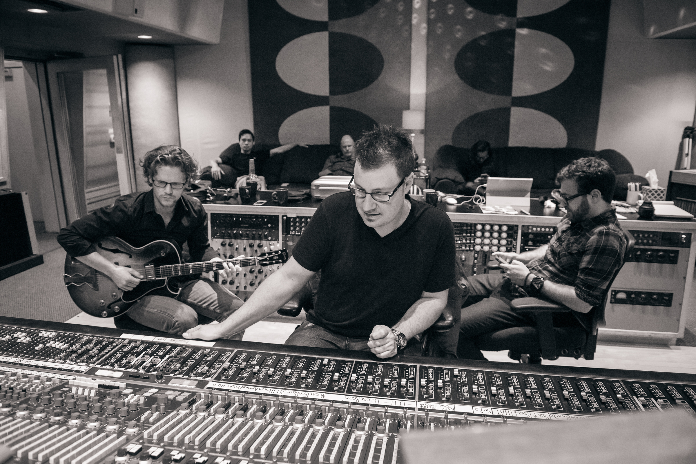 Strangers On A Saturday Night album session - Ocean Recording, Burbank  Photo Credit - Michael Stever