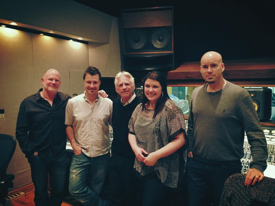"David Benoit and Jane Monheit ""2 In Love"" session - United Recording, Los Angeles"