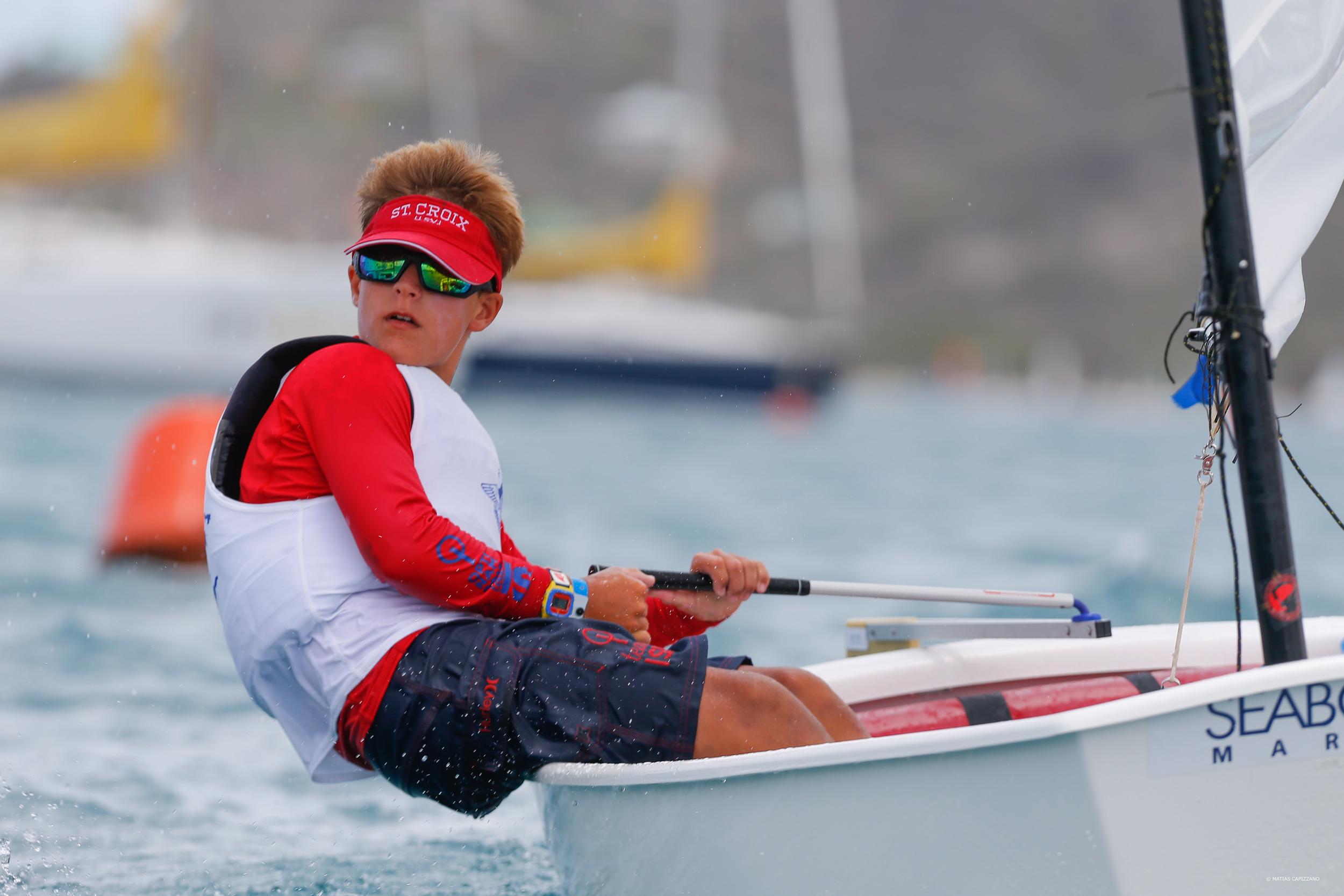 Steven Hardee competes internationally at OPTINAM in Antigua