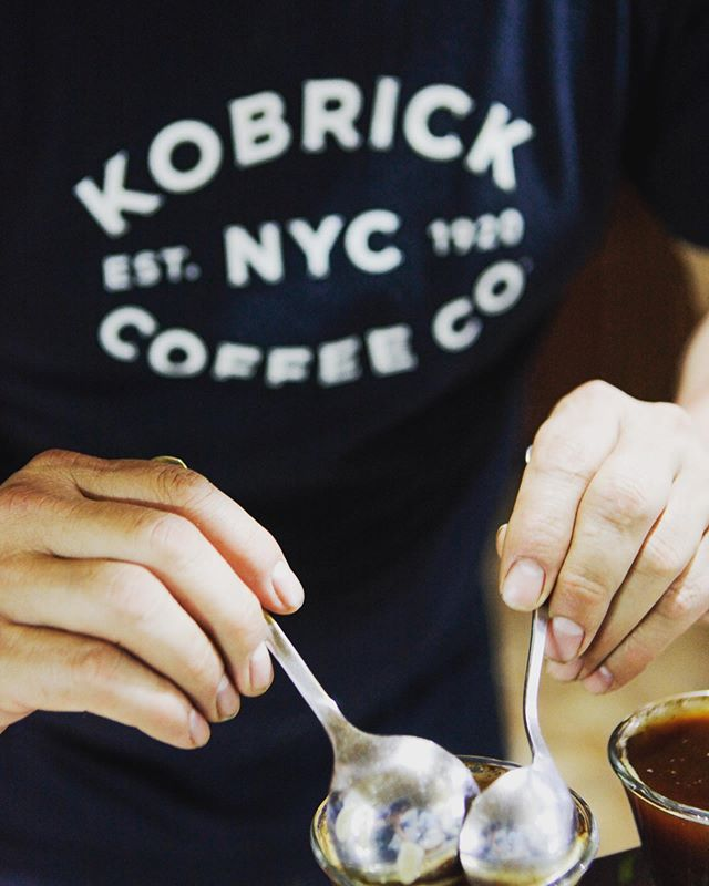 **COFFEE BREAK** Up on the blog today we are spilling the beans on our partner in perks (get it?!) Fourth-generation Kobrick Coffee Co. has spent the last 100 years hand roasting their coffees using tried and true methods that allow for greater depth of flavor from every bean. Their commitment to sustainability, fair trade, Rainforest Alliance, and more is what makes them an excellent #betterforyou choice. Link in bio. ☕️ . . . #coffeeroasters #kobrickcoffee #rainforestalliance #fairtrade #directtrade #canopyproject #sustainablecoffee #greencoffee #coffeelovers #coffeestagram