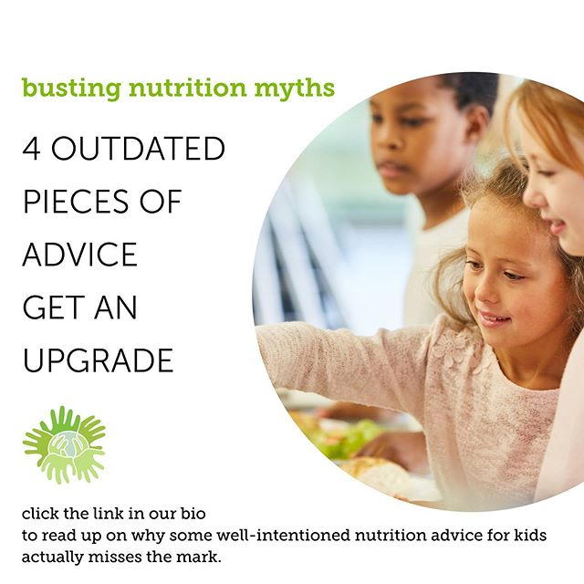 Drink lots of milk for strong bones...snacks will ruin your appetite...if you think statements like these are all fact in the nutrition world, then you will want to check out our blog with 4 of the most common misconceptions about kids and food. Link in the bio👆🏻 . . . #kidnutrition #mythbusters #nutritionmyths #eatwell #nutritionadvice #betterforyou #snackwell #healthyeats #schoolnutrition