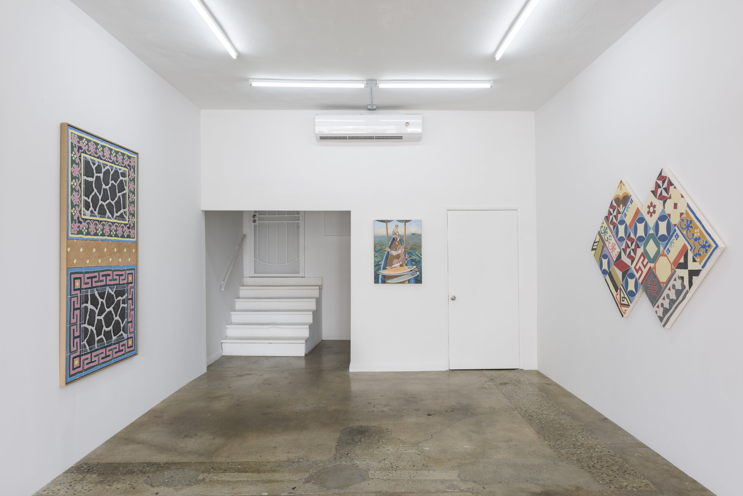 Installation view of  Adam de Boer:  Traveller's Palm   November 2 - December 16, 2018  Photo by Ruben Diaz   Link to Exhibition Text